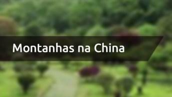 Vídeo Mostrando Lugar Cheio De Verde E Montanhas Na China, Veja Que Lindo!