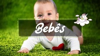 Videos de bebês fofos, engraçados e brincando para Whatsapp e Facebook