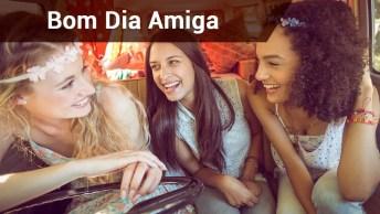 Bom Dia Amiga Linda, Todos Os Dias Sou Grata Pela Sua Amizade