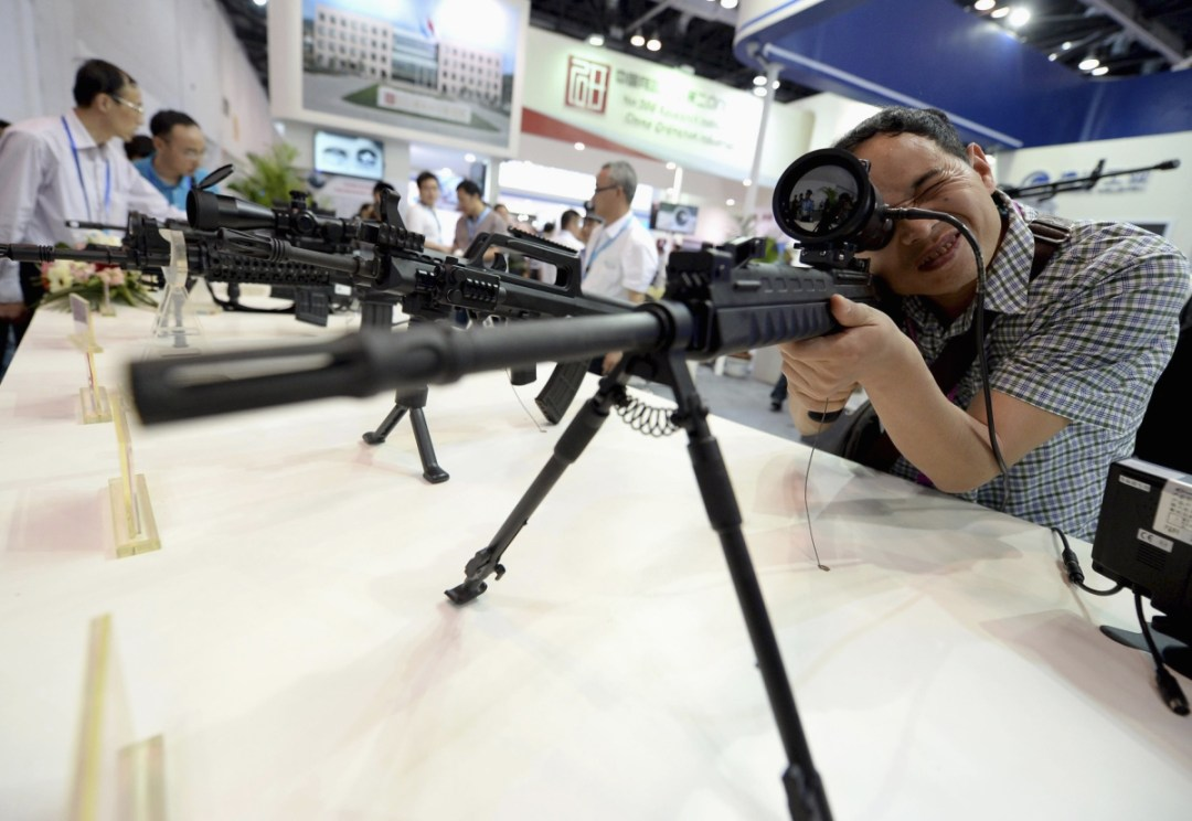 Advanced weapons could trigger a dangerous arms race.