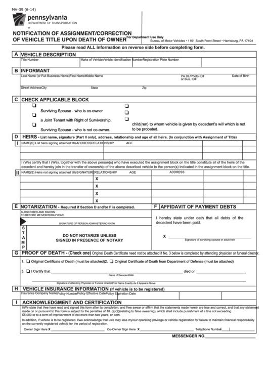 Pa Dmv Check Registration