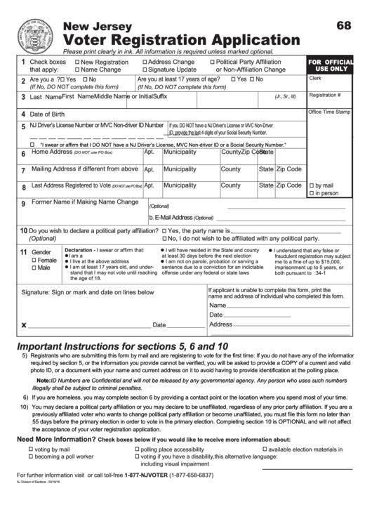 Form Free Blank Template Registration