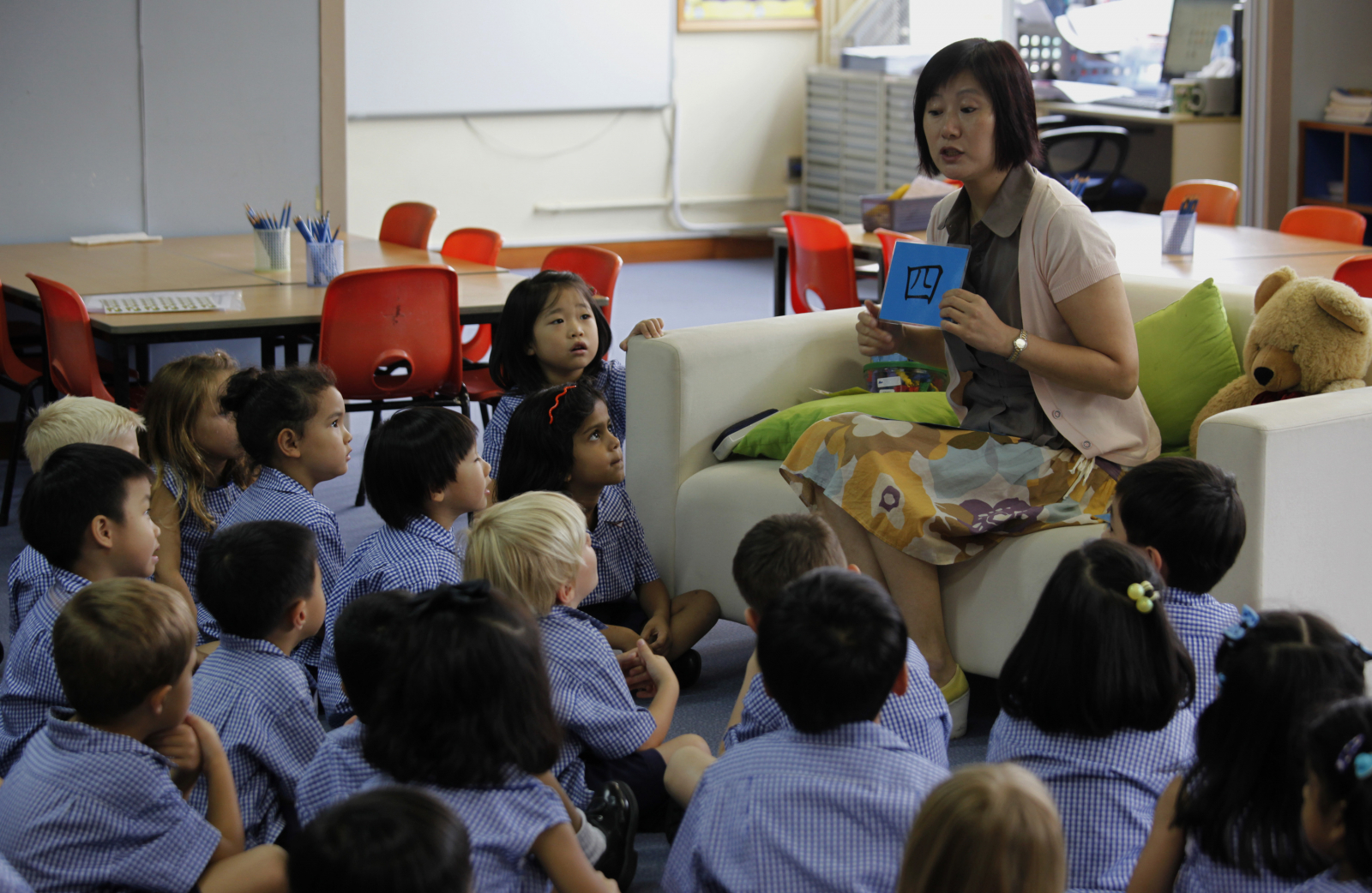 Singapore Pre School Teachers Get Ready For Chinese