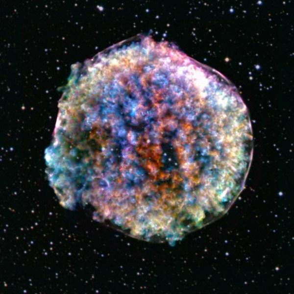 New NASA photo of Tycho Supernova reveals why star ...