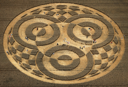 Crop Circle na Alemanha