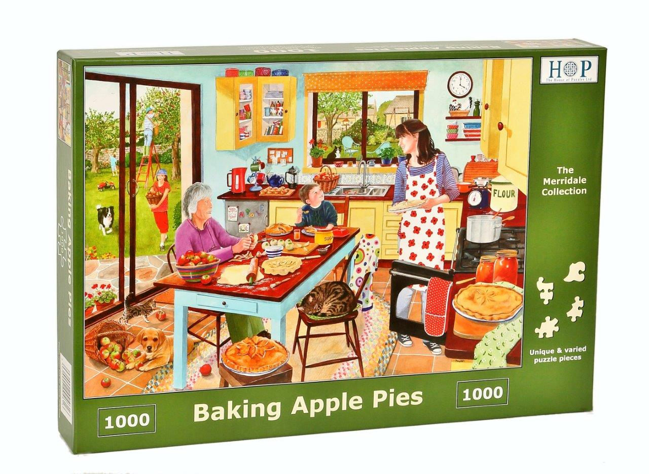 Puzzle Baking Apple Pie The House Of Puzzles