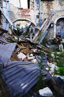 Il centro di Sant Eusanio Forconese foto di Fabrizio Gatti