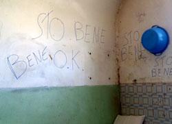 Una stanza dell Opg di Montelupo Fiorentino