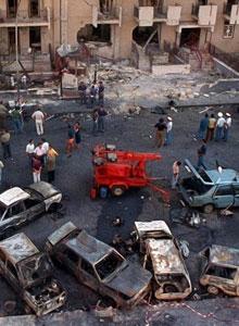 L attentato al giudice Paolo Borsellino in via D Amelio nel 1992