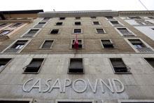 La sede di Casa Pound