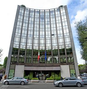 La sede di Finmeccanica