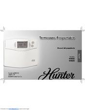 Hunter 44550 Manuals