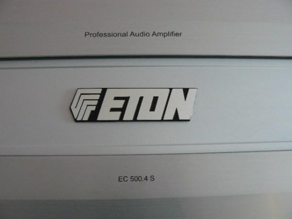 ETON EC5004 4 Kanal Verst228rker Endstufe Amplifer EC 500