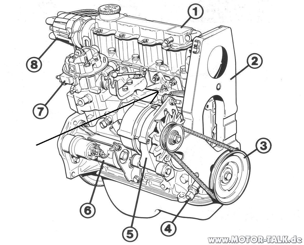 Nz Motor Opel Corsa B Katalysator 1 2 45ps Passt Auch