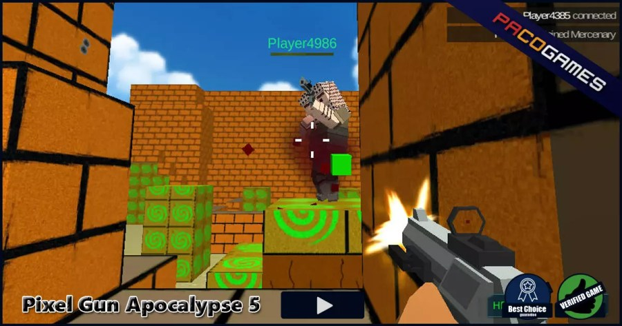 Pixel Gun Apocalypse 5   Play it for Free at PacoGames com