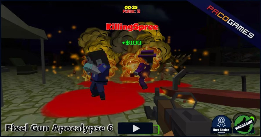Pixel Gun Apocalypse 6   Play it for Free at PacoGames com
