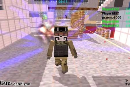 Minecraft Spielen Deutsch Minecraft Shooter Spiele Bild - Minecraft shooter spiele