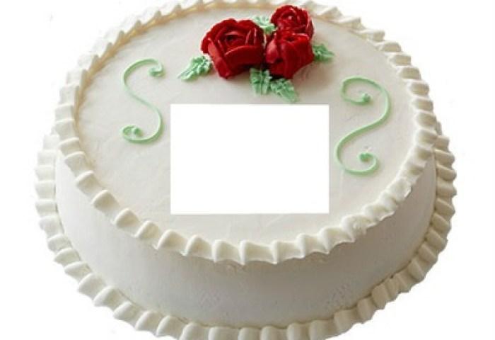 Foto Montase Happy Birthday Cake Pixiz