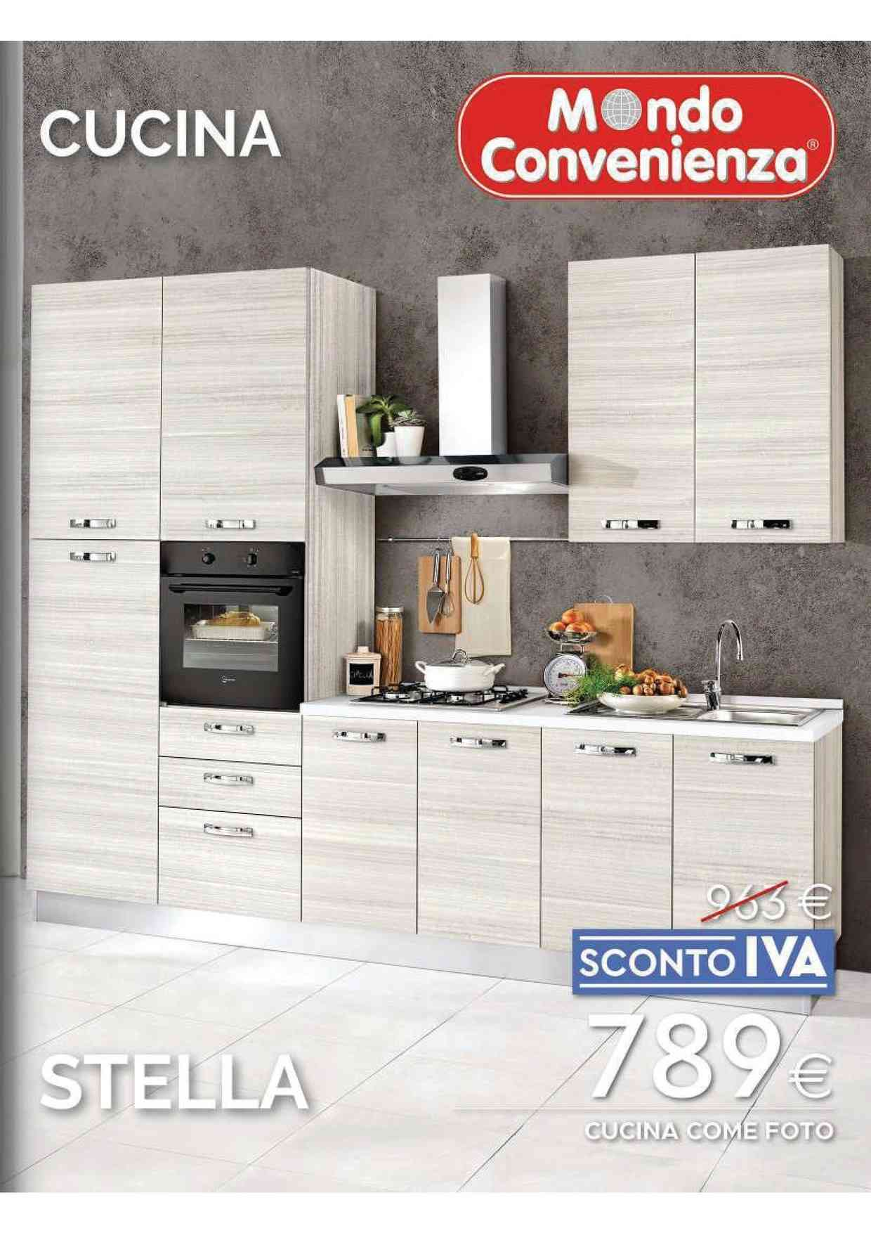 Madie, pareti attrezzate, vetrine e consolle. Offerte Mondo Convenienza Cucine Negozi Per Arredare Casa Promoqui