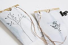 Papiernictvo - Gratulačný pozdrav - rastliny - 12324944_