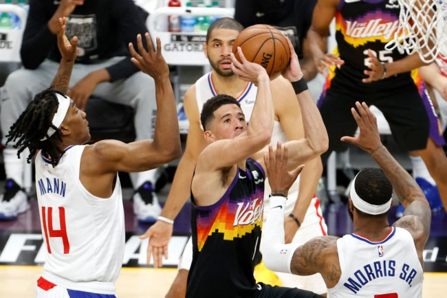2021 NBA Playoffs: Devin Booker Powers Suns to Game 1 Win over LA Clippers