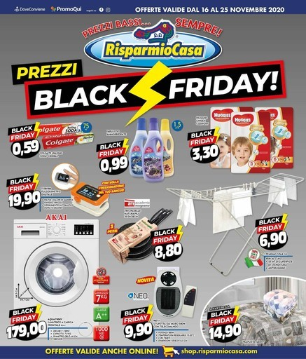 RisparmioCasa - Black friday