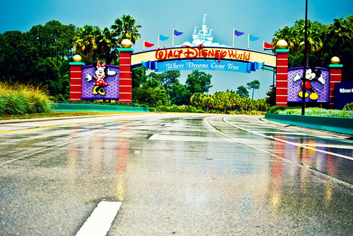 disney world welcome