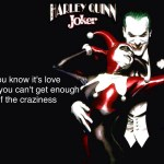 Wallpaper Mad Love Harley Quinn Quotes