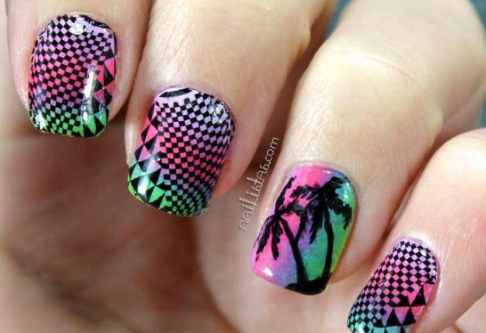 Uñas Decoradas Buscar Con Google On We Heart It
