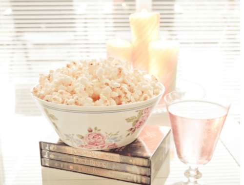 Light, airy popcorn