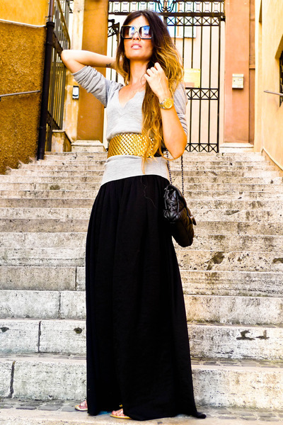 "Bershka Belts, Chanel Bags, Palazzo Zara Pants, Topshop Cardigans | ""ROME"" by MadameDeRosa - Chictopia"