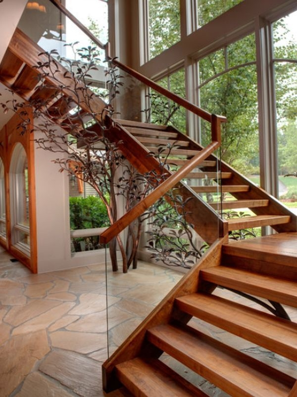 Inspiring Outdoor Wood Stairs Design Ideas For Your Homes For   Exterior Wood Stair Railing   Staircase   Aluminum   Indoor   Landing   Commercial Building