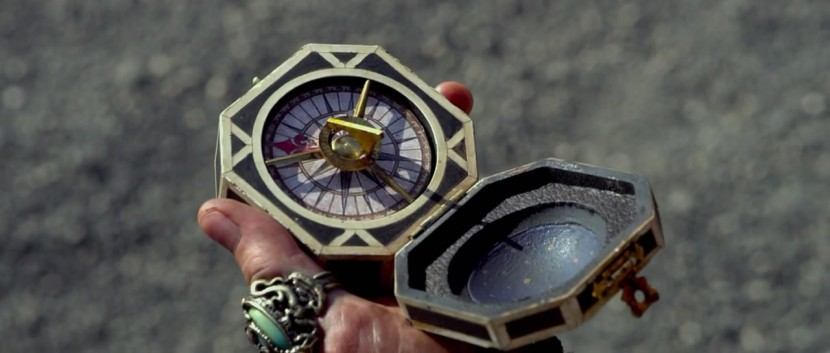 Jack's compass from Pirates in the Caribbean