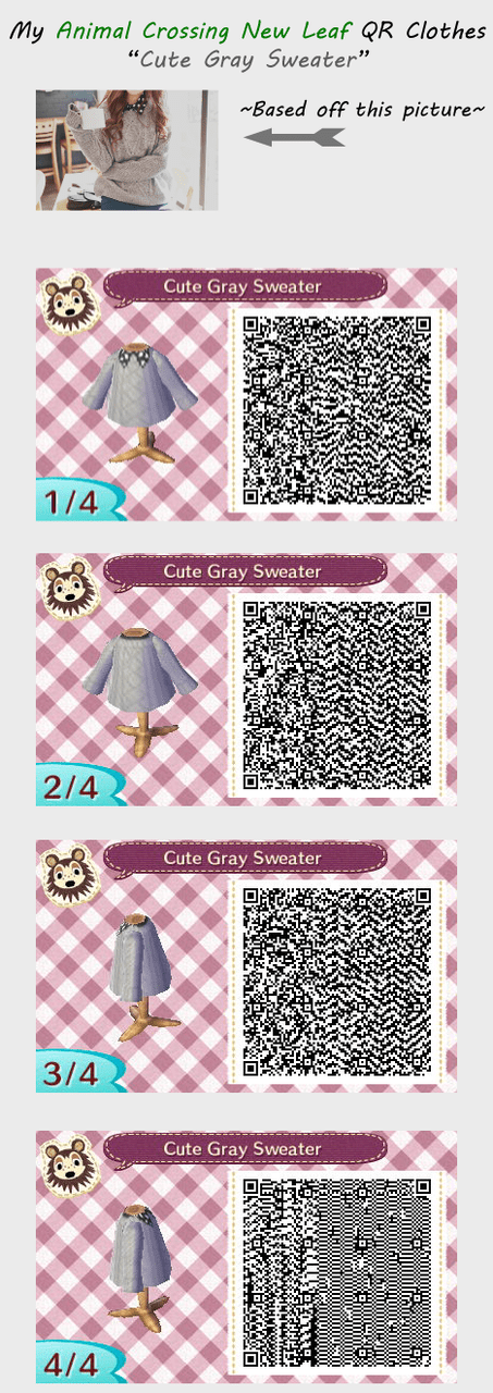Image of: Christmas 60 Images About Acnl Qr Codes On We Heart It See More Wallpapersafari Animal Crossing New Leaf Cute Qr Codes Leafjdico