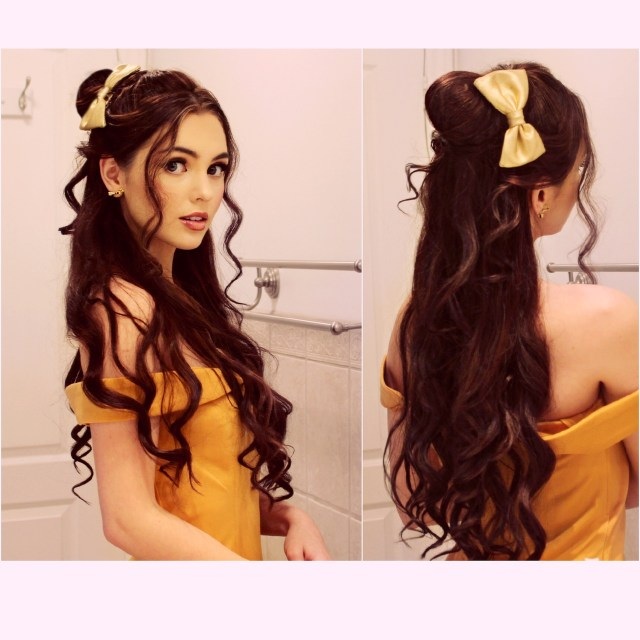 belle from beauty in the beast look by jackie wyers💕