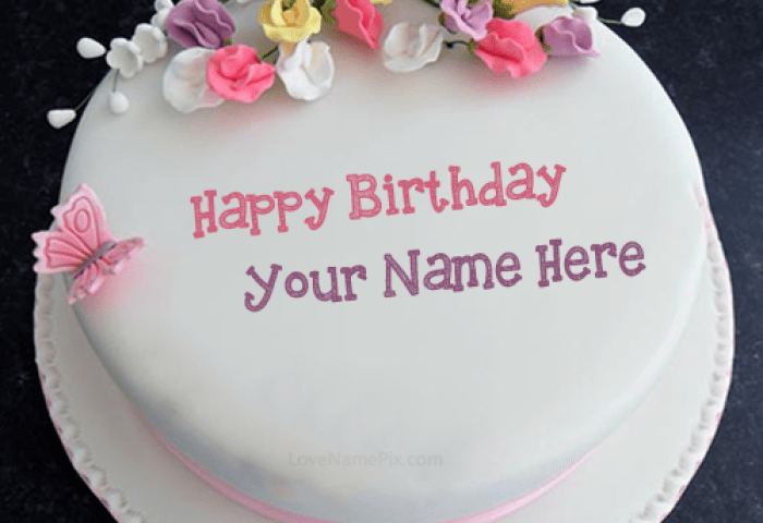 82 Images About Birthday Cake With Name Generator On We Heart It