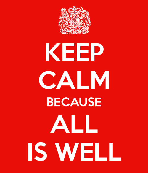 KEEP CALM AND CARRY ON Image Generator - brought to you by the Ministry of Information