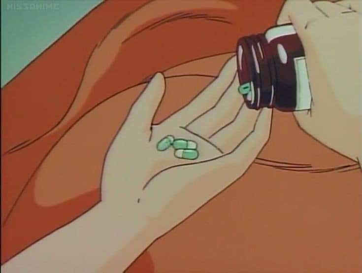 anime, and pills