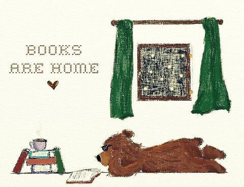 Books Are Home