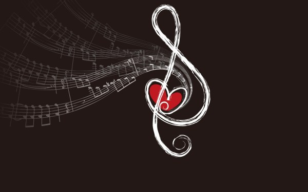 Music Love Note Wallpaper and Photo Download by PHOTOSof.ORG