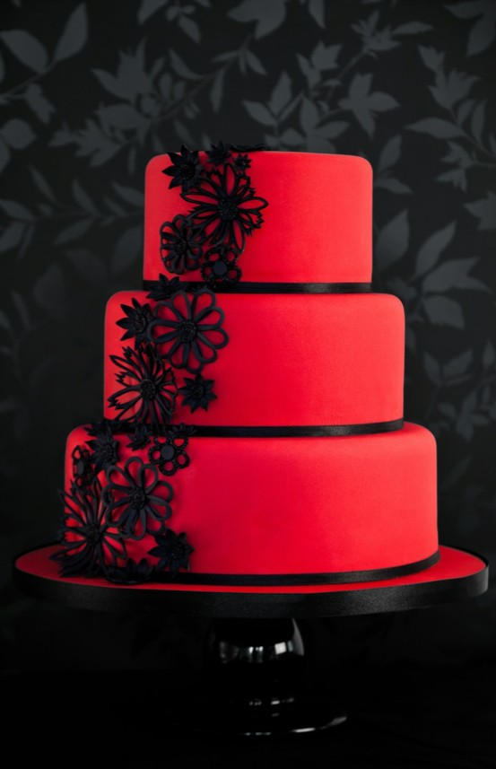 Google Image Result for http   getmarriedcakes com wp content     Google Image Result for  http   getmarriedcakes com wp content plugins jobber import articles photos 143915  red and black wedding cakes 3 jpg