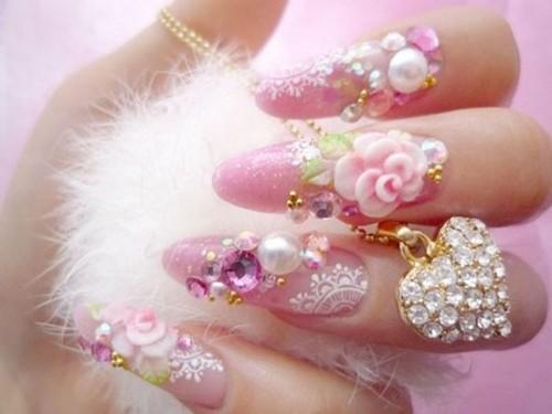 Things Required For Polishing Cute Nail Polish Art Design