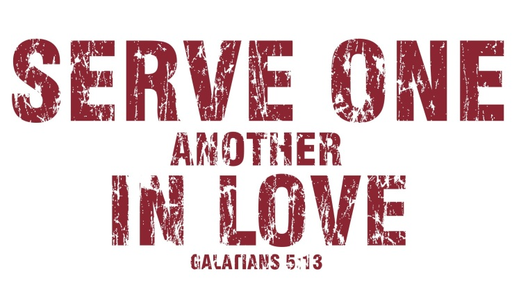 Image result for serve one another in love