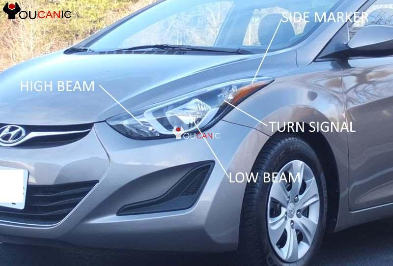 Hyundai Elantra Fog Light Bulb Replacement