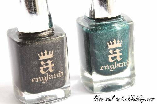 Saint George ... et Bridal Veil en accent nail (A-England) ...