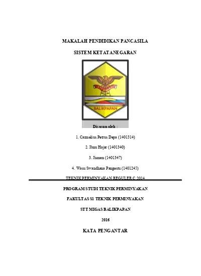 Sistem ketatanegaraan indonesia sebelum perubahan uud 1945. Makalah Tentang Sistem Ketatanegaraan Do 1
