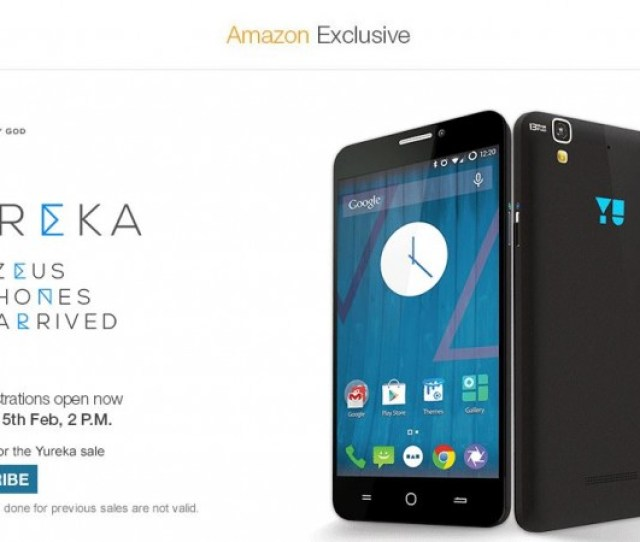 Micromax Yu Yureka Registration Service Goes Live On Amazon India Company Promises To Double Inventory