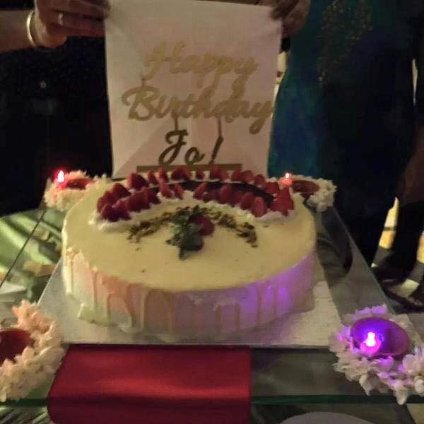Happy Birthday Cake Kajal