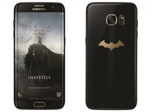 Samsung, DC Comics unveil Batman inspired Galaxy S7 edge Injustice edition