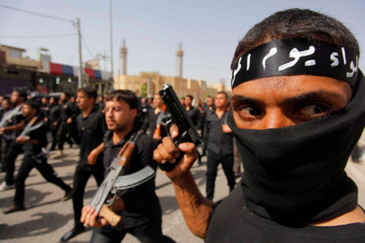 ISIS militants in Iraq